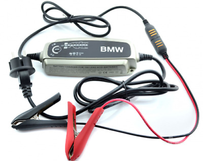 BMW New Genuine Car Trickle Battery Charger Conditioner 5 Amp UK 61432408593