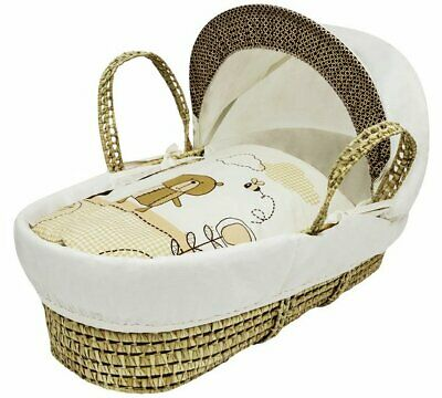 Kinder Valley Teddy in the Park Moses Basket  For Your Little One NEW_UK_SELLER