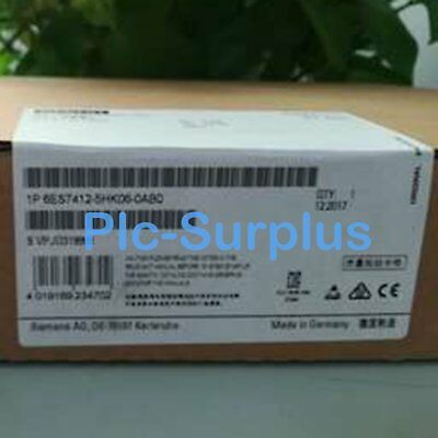 1PC New In Box Siemens 6ES7 412-5HK06-0AB0 6ES7412-5HK06-0AB0 One year warranty