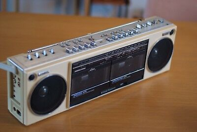 National Panasonic Boombox GhettoBlaster, Made in Japan, Retro, Vintage, Works