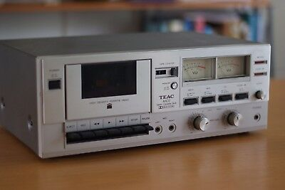 TEAC A-107 Professional Cassette Player, Made in Japan, Rare, Working, VGC