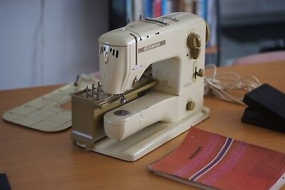 Bernina Record Sewing Machine with all attachments and Bag, Great Condition,Rare