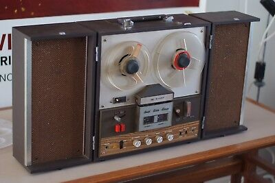 Sharp Solid State Stereo Reel to Reel Recorder/Player, Working, Rare, Japan Made