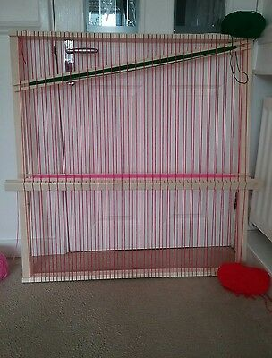 Weaving loom /frame 84cms x 83cms  15mm spacing