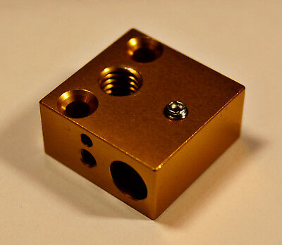 REPLACEMENT CREALITY 3D Heater Block,- CR-10, CR10S, Ender2/3/4 3D