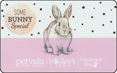 Gift Card: Pet Valu (Canada) Some BUNNY Special (rabbit/bunny), $0.00