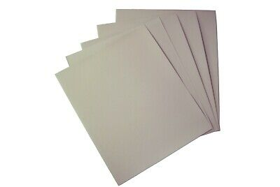 10 x Jewellers Emery Paper Sheets Grade 4/0 A4 Size Sandpaper Hobby Craft. X8167