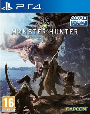 Monster hunter World | PS4 | No CD