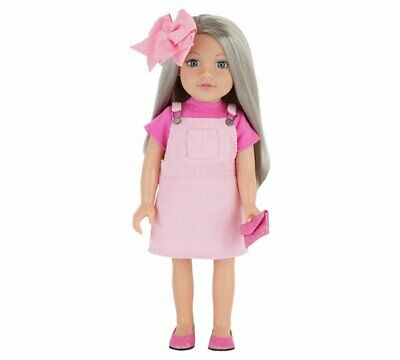 Chad Valley Designafriend Gracie Doll With Glitter Shoes - 18inch/45cm NEW_UK