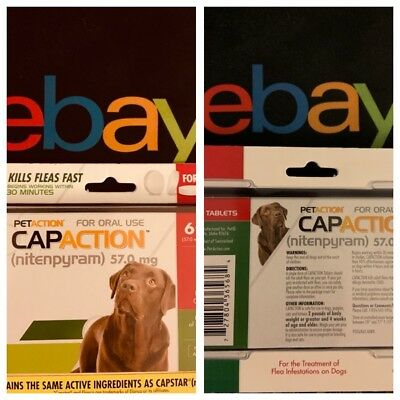 🐶CapAction for Dogs 57mg (over 25 lbs) - 6 Tablets Exp.4/21🐶
