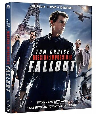Mission Impossible: Fallout Blu Ray/DVD/Digital Brand new factory sealed