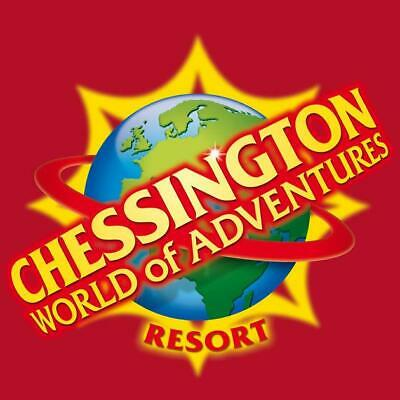 2 X Chessington World of adventures theme park tickets THURSDAY 16TH MAY 2019*