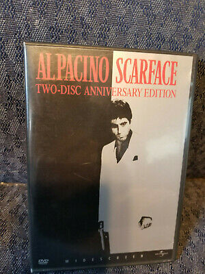 Scarface (DVD 2003, 2-Disc Full Screen, Anniversary Edition) Like New, Al Pacino