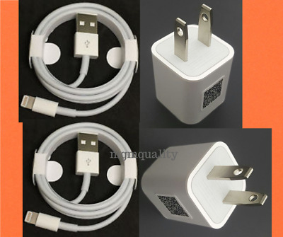 Lightning USB Cable & Charger For Original Apple iPhone XS Max XR X 8 7 6 S Plus