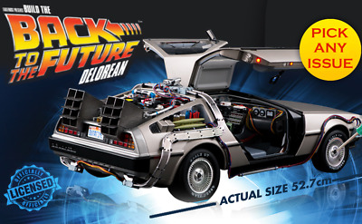 Build Your Own Back To The Future Delorean | Dmc | 1:8 Scale | Eaglemoss