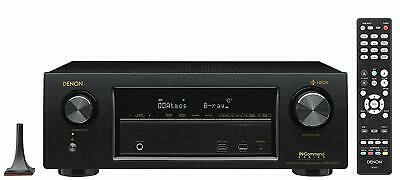 Denon AVR-X1400H 7.2-Channel Network A/V Receiver with Wi-Fi Bluetooth HEOS