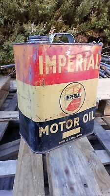 Bidon huile imperial oil can import usa