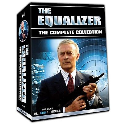 The Equalizer Complete Collection Edward Woodward TV Series Season Boxed DVD Set