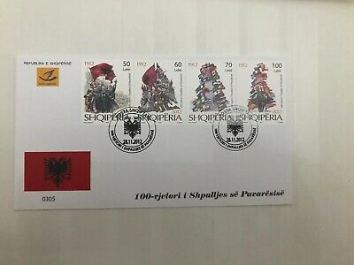 Albania Independence Fdc