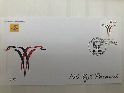 Fdc Albania 100 Years Of Independence