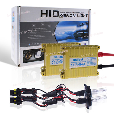 Car HID Xenon Headlight Conversion KIT Bulbs Halogen Hi/Low beam H4 H13 9007 PZ