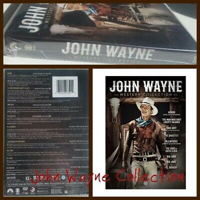 🎬John Wayne Western Collection [ DVD] Boxed Set Gift Set [Brand New]Widesreen🎬