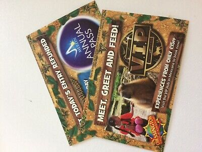 2 Chessington World Of Adventures Actual Tickets Friday  5th July 2019
