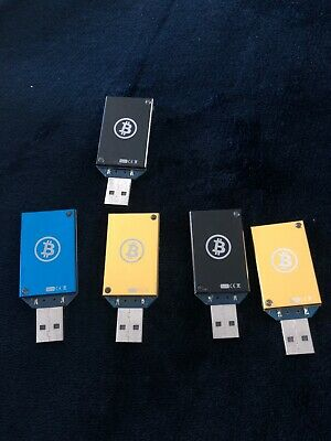 5 ASIC Miner Block Erupters Bitcoin Miner USB 333 MH/s - Various Colors