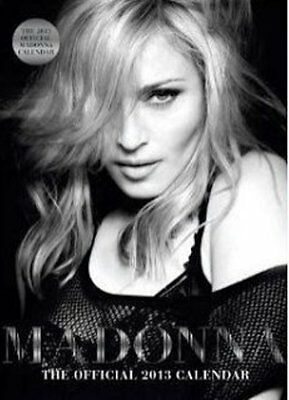 MADONNA  2013 CALENDAR ,OFFICIAL. DATES MATCH 2019. By Danilo, sealed