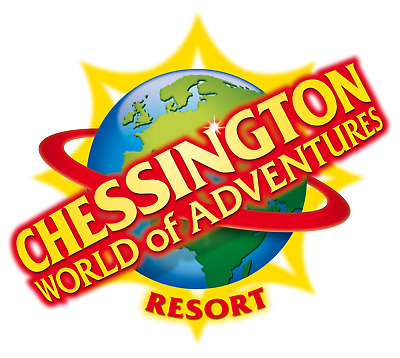 2 Chessington World Of Adventures E-tickets Friday 3rd May 2019