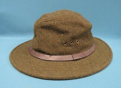 a0719bf2f058d FILSON WOOL PACKER Hat Forest Green S M -  65.00