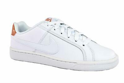 SNEAKERS NIKE COURT Royale 749867-116 Donna Pelle Bianco