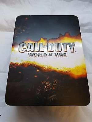 Call Of Duty: World At War Limited Edition Collector's Tin & Flask Xbox 360