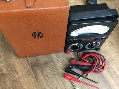 AVO 8 MK6 MultiMeter Excellent Condition  Tested 100% working