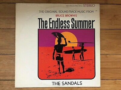 c5966c2a5c3b The Sandals – The Endless Summer 1966 World Pacific ST-1832 Jacket VG+ Vinyl