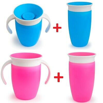 Munchkin Baby Cup Trainer Cup & Sippy Cup Kit Anti Spill Baby Cup