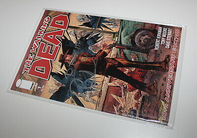 The Walking Dead Issue #1 10th Anniversary Edition Signed Charlie Adlard