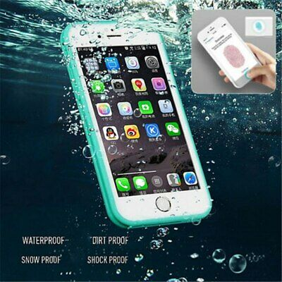 Waterproof Shock Proof Hybrid Rubber TPU Case Cover For iPhone 6s 6 plus 7 X SE
