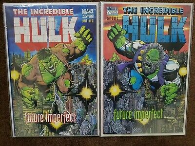 The Incredible Hulk Future Imperfect 1 & 2 1st App Maestro VF-NM