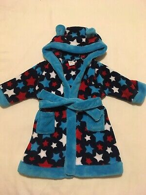 Boys Dressing Gown - Age 6-9 Months