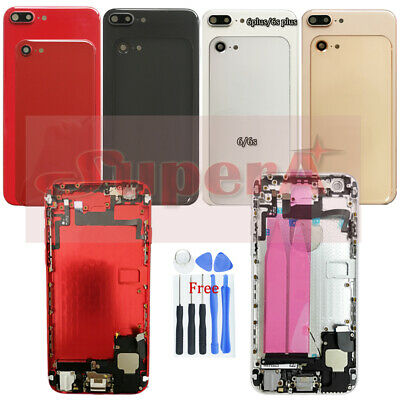 Battery Case Housing Frame Assembly Cover For iPhone 6 6P 6sP To iphone 8 8 Plus