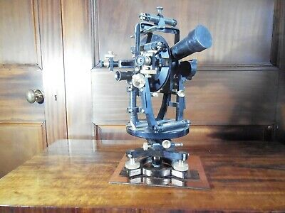 Large Watts Geodetic Micrometer Transit Theodolite #12253 dated 14/01/1929