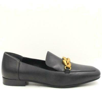 29b55da76 TORY BURCH Jessa Loafer Women Moc-Toe Loafers Size 8M Perfect Black Calf  Leather