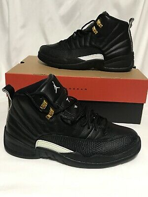 7081fd4e643 Nike Air Jordan 12 Retro XII The Master 130690-013 Size 8.5 Black/Gold