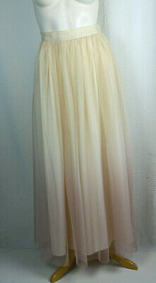 57aa33a44a6d3 Lauren Conrad Runway Skirt OmbreTulle Maxi Fit & Flare lavender Blush Pink  10