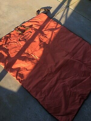 """Mud River Dog Products Seat Cover Orange/Brown 68"""" X 56"""""""