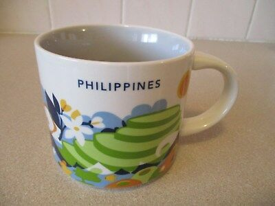 STARBUCKS PHILIPPINES 'You Are Here Collection' 14oz 414ml Ceramic Coffee Mug