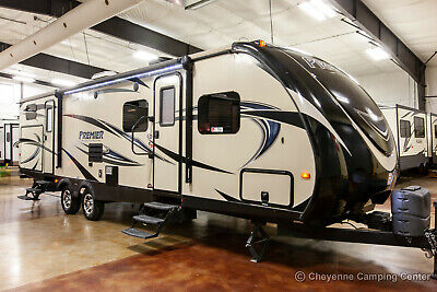 2015 Keystone Bullet 31BHPR Used Bunkhouse Travel Trailer with Outdoor Kitchen
