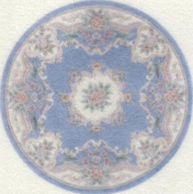 """1:48 Scale Dollhouse Round Area Rug 0000757 - approximately 2"""""""
