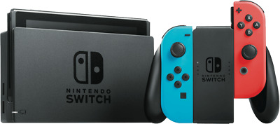 NEW Nintendo 142979 Switch Console - Neon